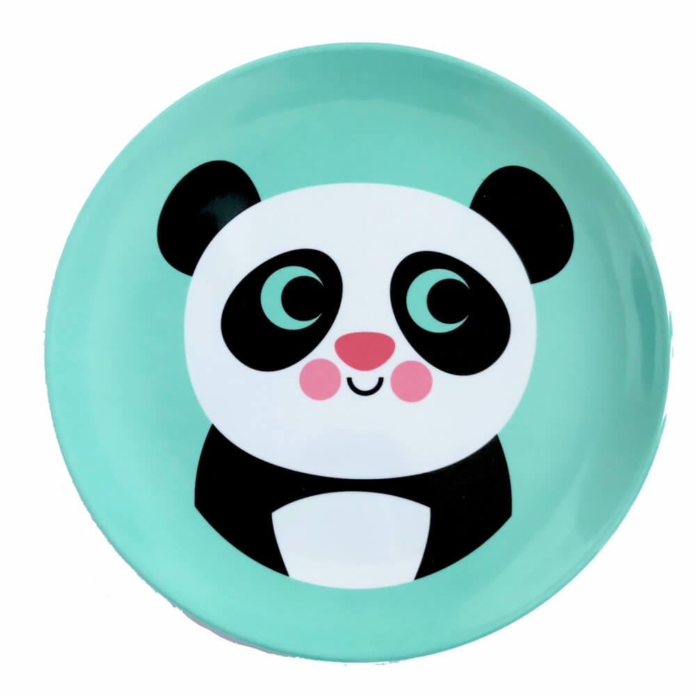 Prato Infantil de Melamina Panda - OMM Design