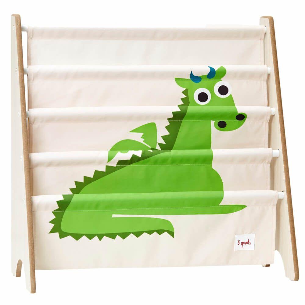 Rack para Livros Infantis de Dragão - 3 Sprouts