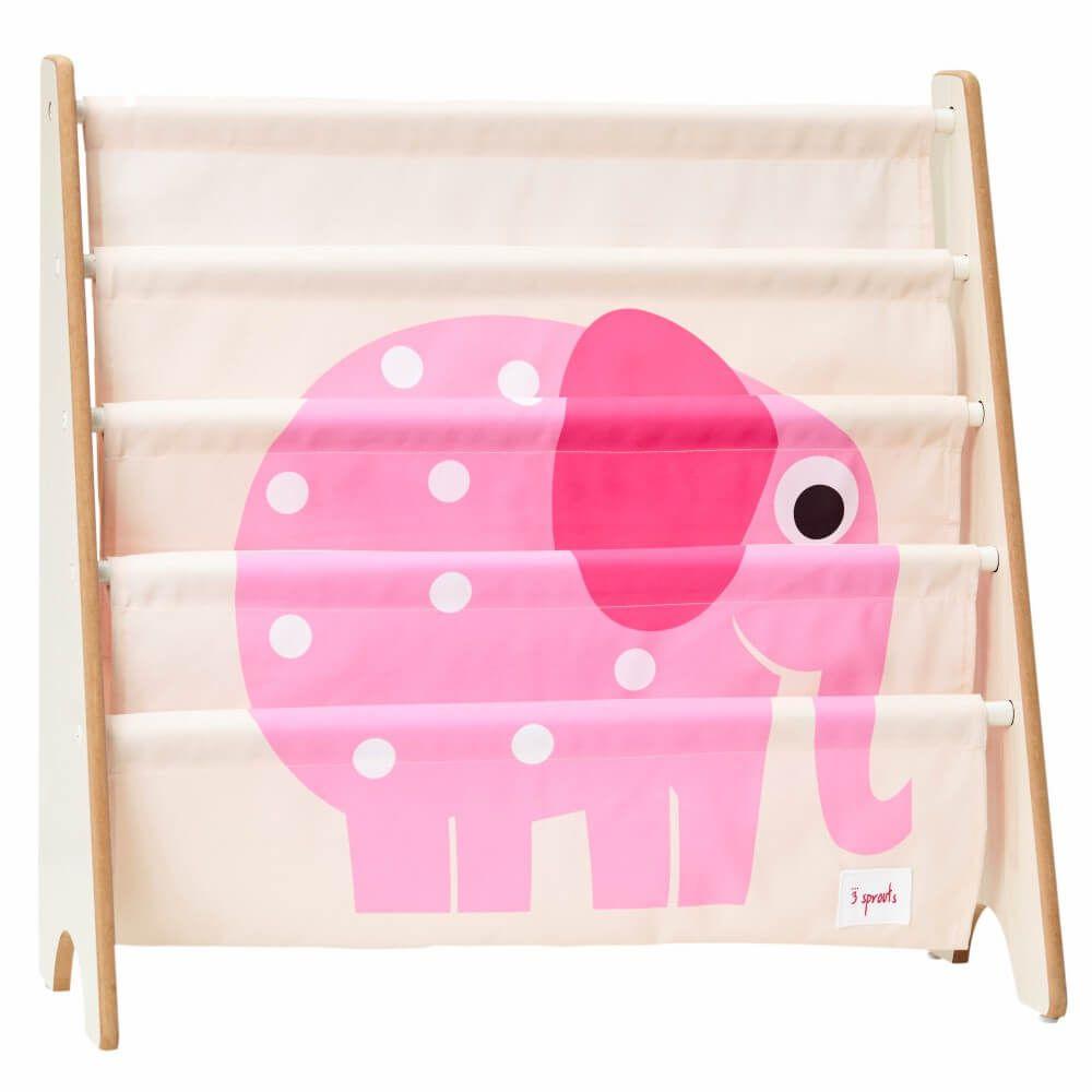 Rack para Livros Infantis de Elefante - 3 Sprouts