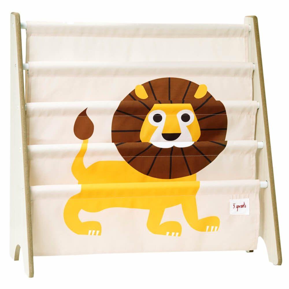 Rack para Livros Infantis de Leão - 3 Sprouts
