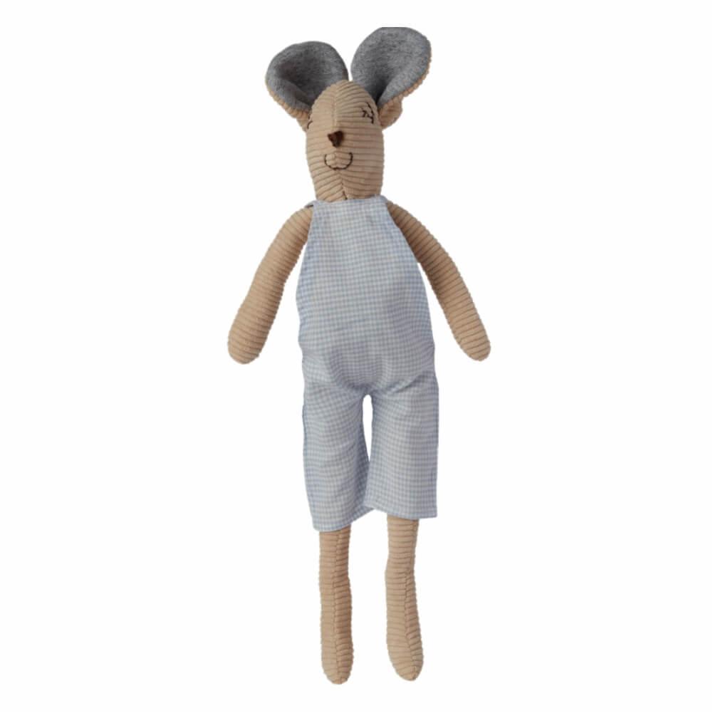Ratinho (Doudou) de Jardineira Xadrez