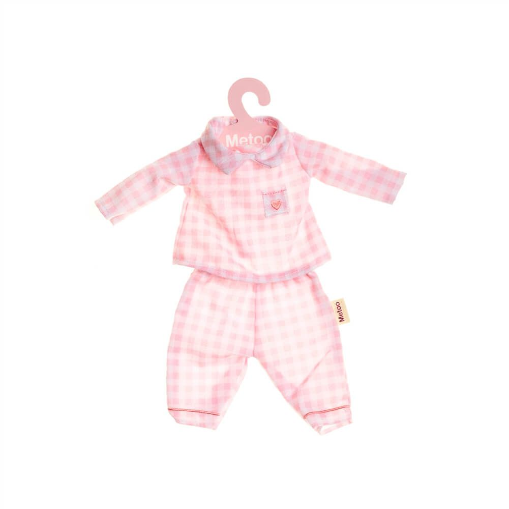 Roupinha para Boneca Metoo - Pijama Rosa