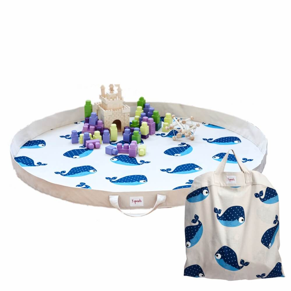 Tapete de Atividades (Playmat) Baleia - 3 Sprouts