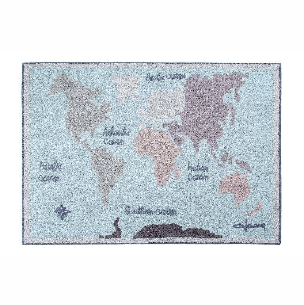 Tapete Lorena Canals Mapa-múndi
