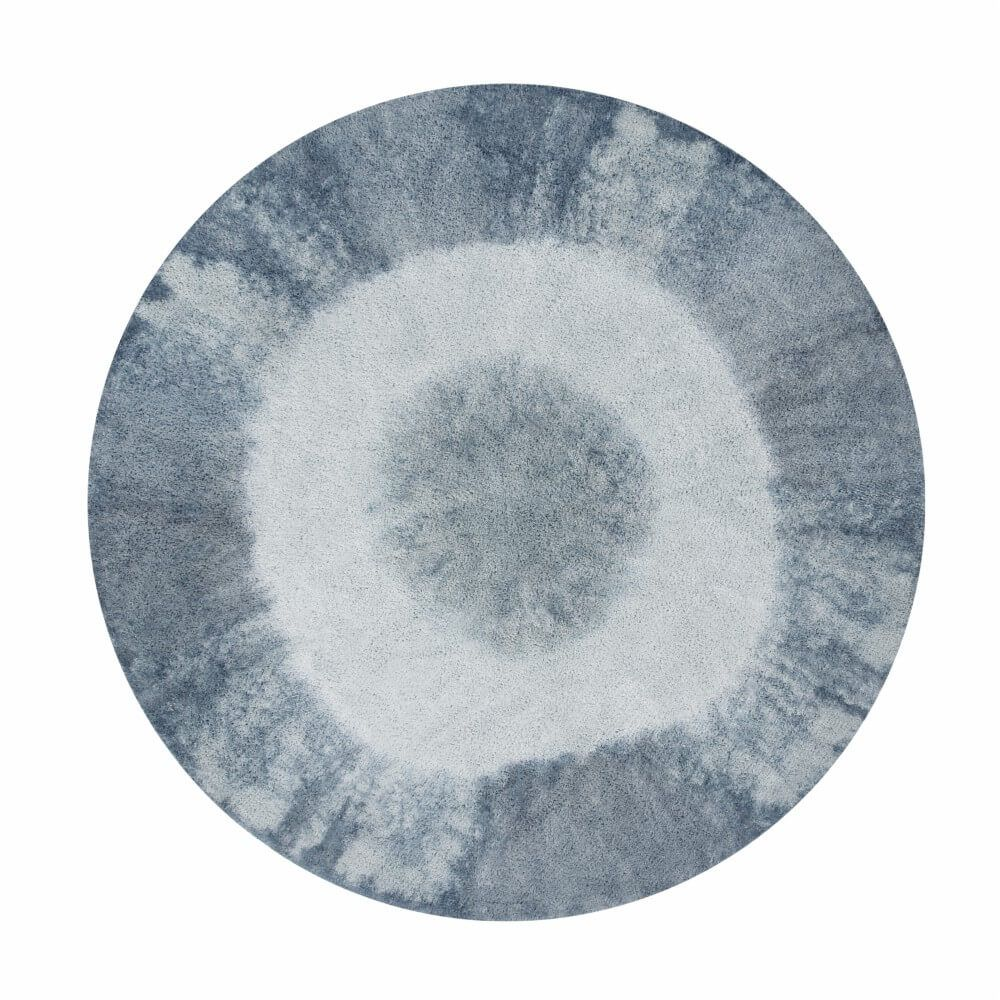 Tapete Lorena Canals Tie-Dye Azul