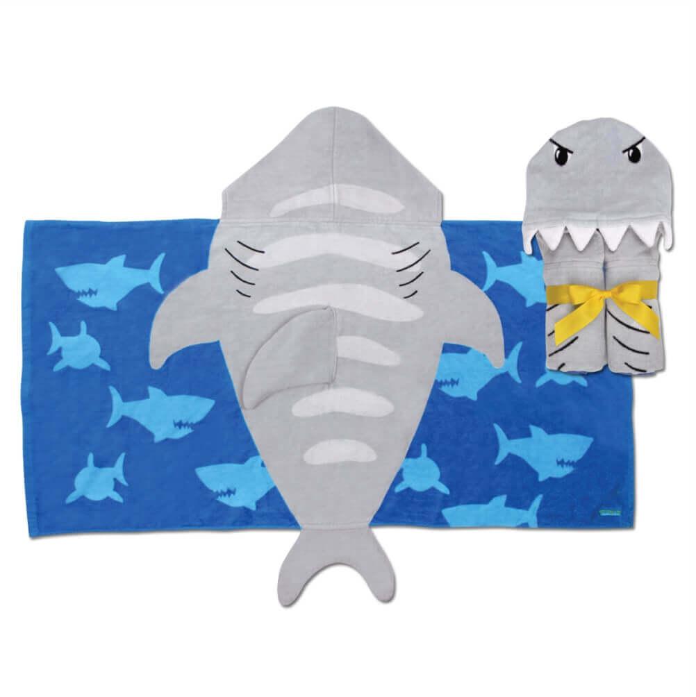 Toalha Stephen Joseph Infantil Tubarão