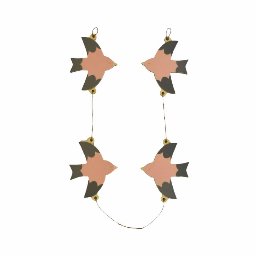 Varal Decorativo Pássaros - Adot
