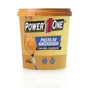 PASTA DE AMENDOIM COM MEL E GUARANÁ POWER1ONE 500g
