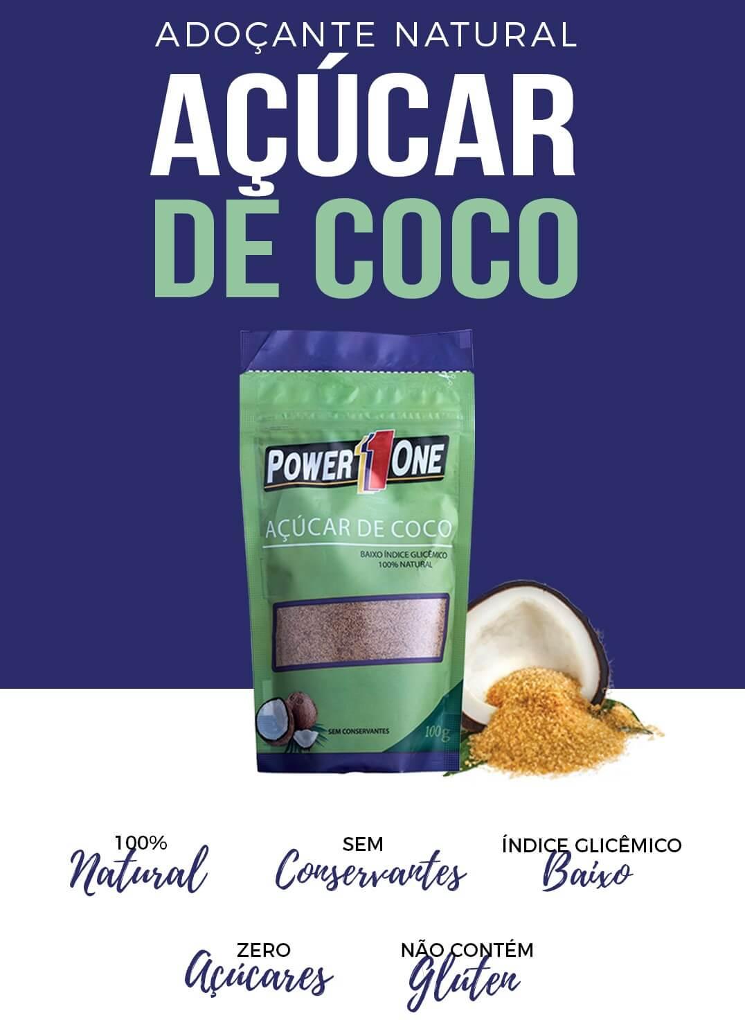 ADOÇANTE NATURAL AÇÚCAR DE COCO 100g