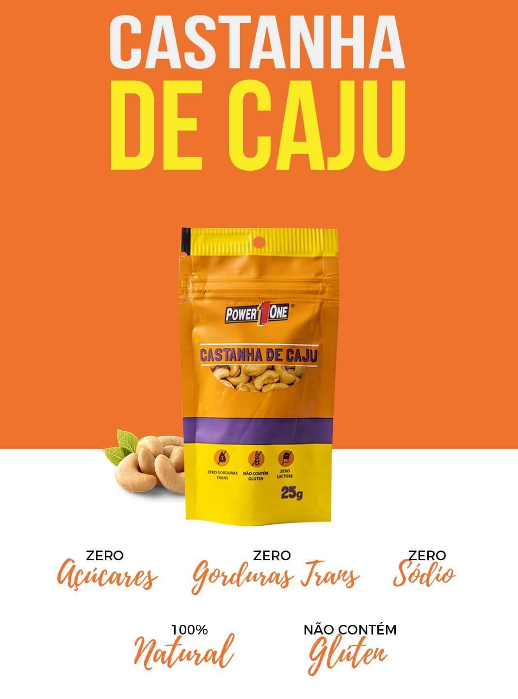 CASTANHA DE CAJU 25g