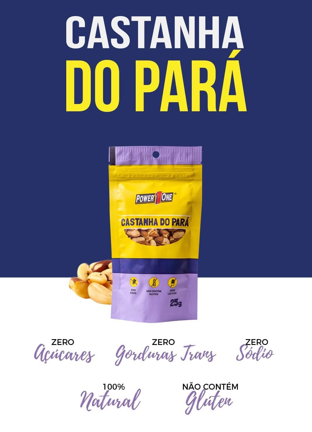 CASTANHA DO PARÁ 25g