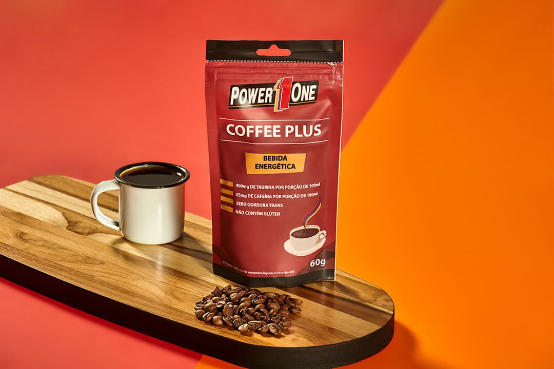 COFFEE PLUS TAURINA + CAFEÍNA 60g