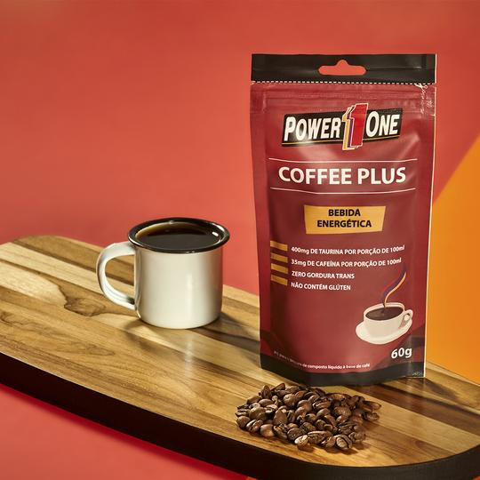 COFFEE PLUS TAURINA + CAFEÍNA 60g