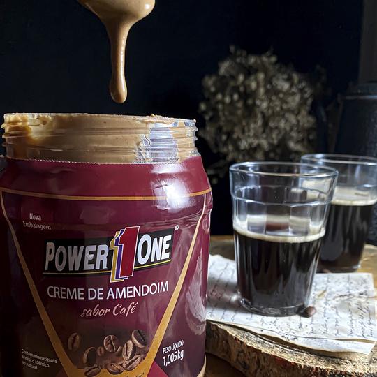 CREME DE AMENDOIM COM CAFÉ 1,005kg