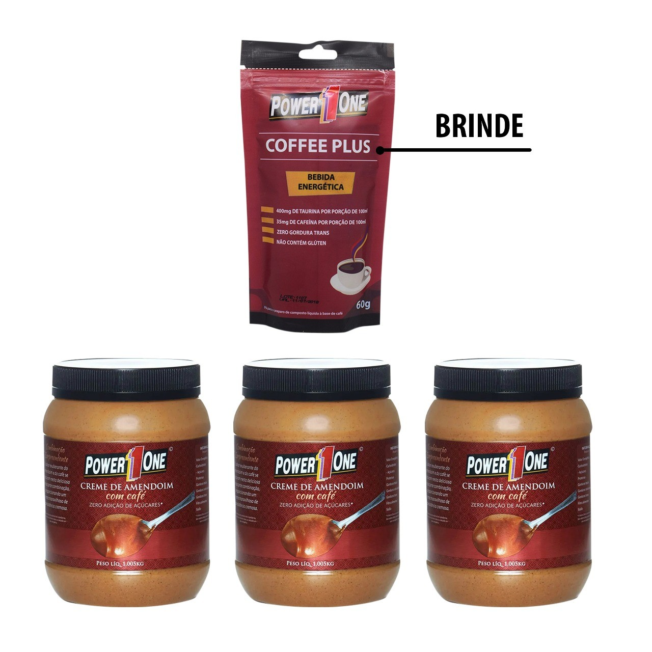 KIT CAFEÍNA + BRINDE