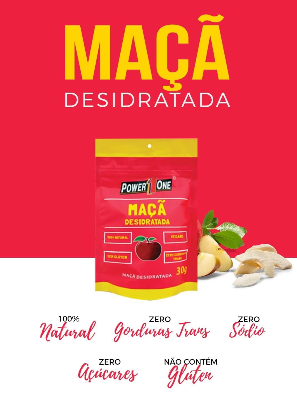 MAÇÃ DESIDRATADA 30g