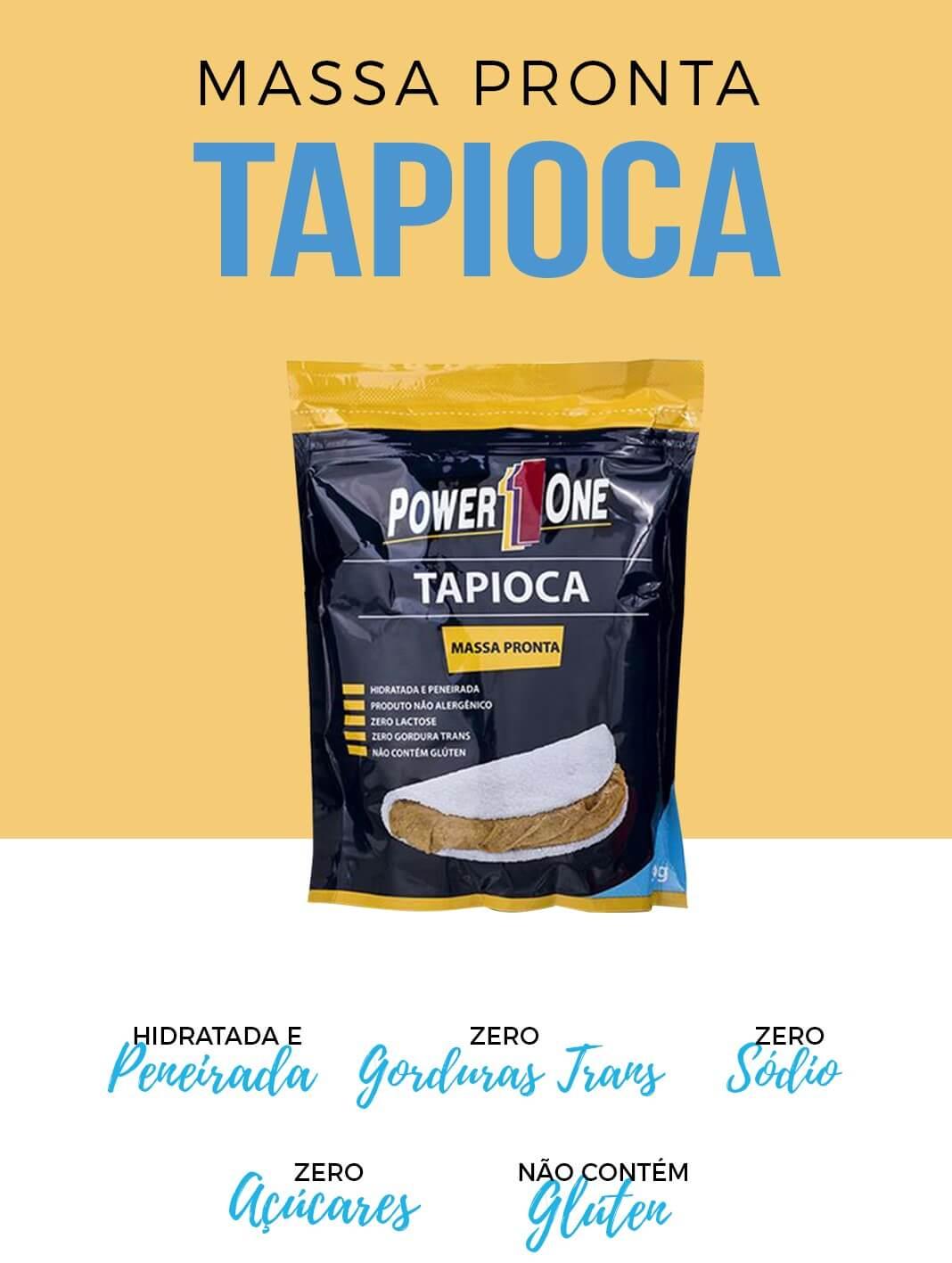 MASSA PRONTA TAPIOCA 500g