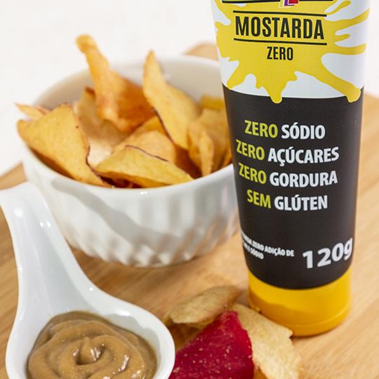 MOLHO MOSTARDA ZERO 120g