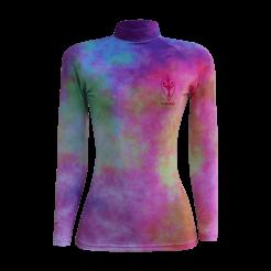 "Lycra EcoLord ""Summer Colors - Tie Dye"" UPF50+ Surf Praia - Malha Pet - Feminino"