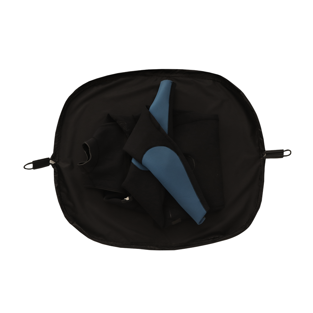 Kit 10 - Poncho Blue Ocean + WetBag Recycle