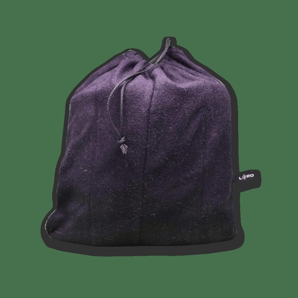 Toalha Poncho de Surf LORD All Black - Preto - Adulto