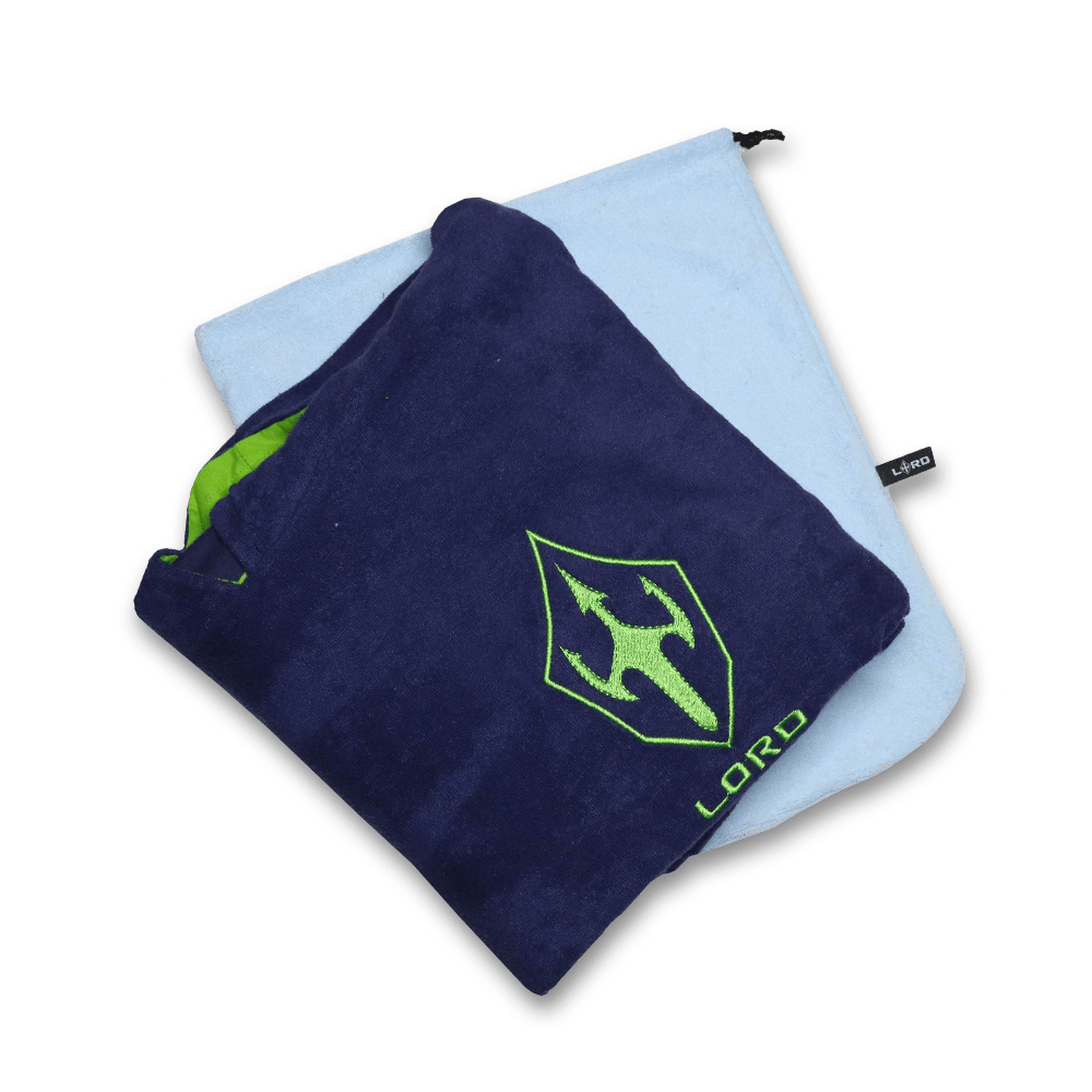 Toalha Poncho de Surf LORD Blue - Azul - Infantil