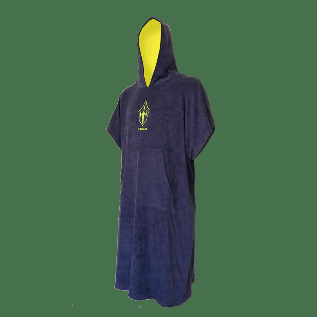 Toalha Poncho de Surf LORD Blue Ocean - Marinho - Adulto