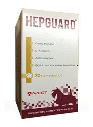 Hepguard Suplemento para Cães Avert 30 Comprimidos