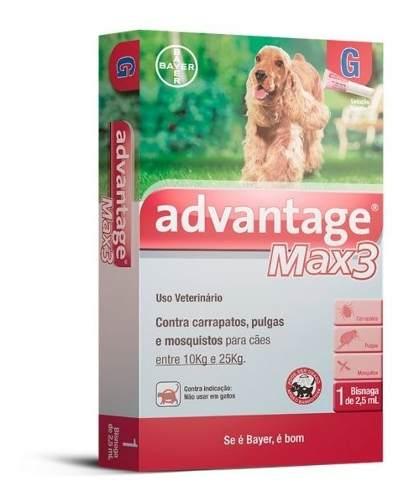 Antipulgas Bayer Advantage Max3 10-25kg