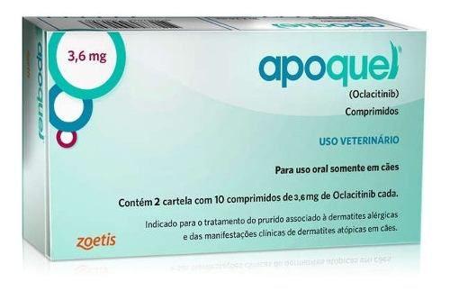Apoquel Dermatológico Anti Coceira Cães 3,6 Mg