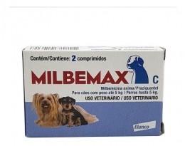 Milbemax Com 2 Comprimidos Para Cães Até 5kg