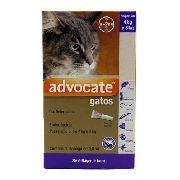 Advocate Para Gatos De 4 A 8 Kg