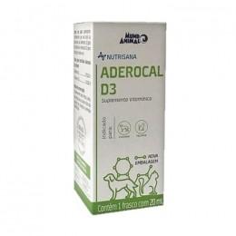 Aderocal D3 Suplemento Vitaminico Mundo Animal 20ml