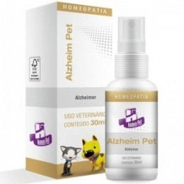 Alzheim Pet Homeopatia Real H Para Cães e Gatos 30ml