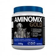 Aminomix Gold 500g Vetnil Suplemento Vitamínico