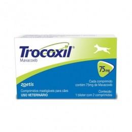 Trocoxil 75mg Anti-Inflamatório 2 Comprimidos Zoetis