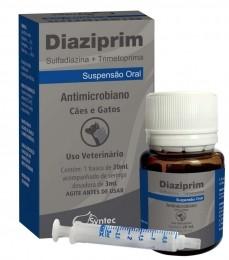 Antimicrobiano - Diaziprim 20 Ml - Cães E Gatos - Synte