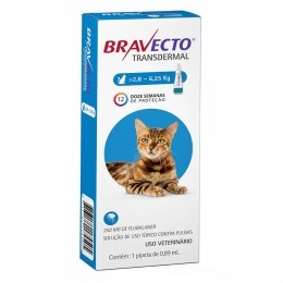 Antipulgas Bravecto Transdermal Gato 2,8-6,25kg