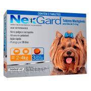 Antipulgas E Carrapatos Nexgard Cães 2 A 4kg