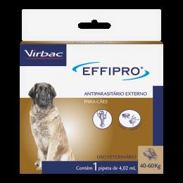 Antipulgas E Carrapatos Para Cães 40 A 60 Kg Effipro Virbac