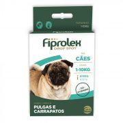 Antipulgas Fiprolex Cães Até 10kg  1 pipeta