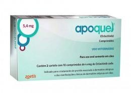 Apoquel Dermatológico Zoetis 5,4mg Cães 9 a 26,9kg