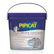 Areia Higiênica Pipicat Silver Control 4kg