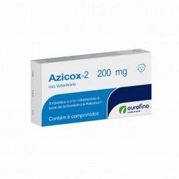 Azicox-2 200mg Ourofino Antibiotico 6 Comprimidos