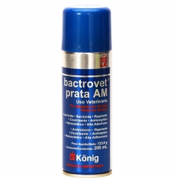 Bactrovet Spray Konig Prata Am - 200ml (Mata Bicheira)