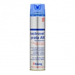 Bactrovet Spray Konig Prata Am - 500ml (mata Bicheira)