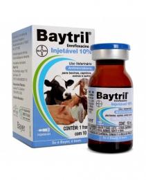 Baytril Injetável 10% Bayer 10ml