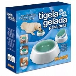 Bebedouro Tigela Gelada Para Pets Jambo Pet