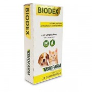 Biodex Biofarm Anti Inflamatorio Para Cães e Gatos 20 Comp.