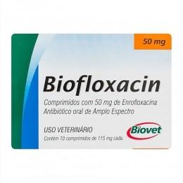 Biofloxacin 50mg Antibiótico Oral Para Cães e Gatos